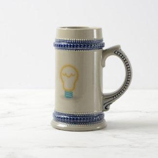 Neon Light Bulb Coffee Mug