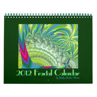 Neon Lights 2012 Fractal Calendar