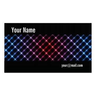 Neon lights business card