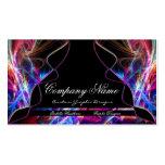 Neon Lights Graphic Designer Business Cards d4