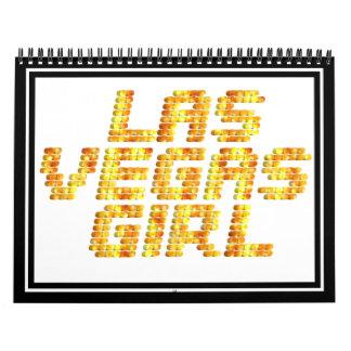 Neon Lights - Las Vegas Girl Calendars