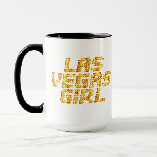 Neon Lights - Las Vegas Girl Mug