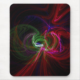 neon lights mouse pad