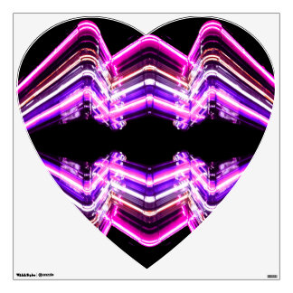 Neon Lights Pop Art Artsy Heart CricketDiane Wall Sticker