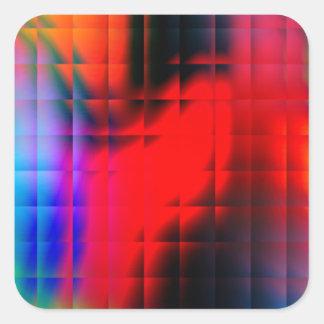 Neon Lights Square Sticker