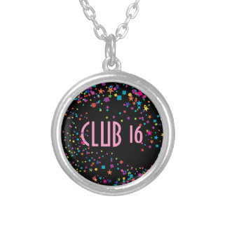 Neon Lights Sweet 16 Club Party Favor Necklace
