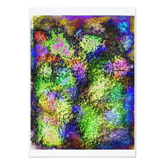 Neon Lilacs Invitations