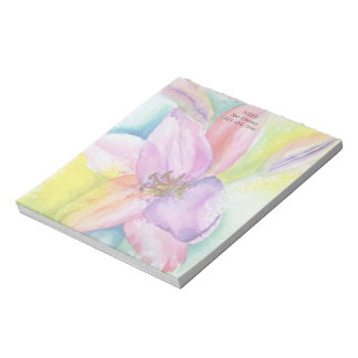 NEON LILY CUSTOMIZABLE NOTE PAD