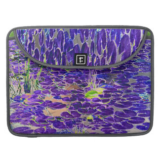 Neon Lilypad MacBook Pro Sleeve