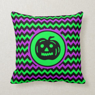Purple And Lime Green Throw Pillows : Lime Green And Black Pillows - Decorative & Throw Pillows Zazzle