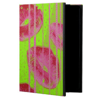 Neon Lime Red Lips Powis iPad Air 2 Case