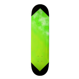 Neon Limeade Green Black Customizable Deck 3