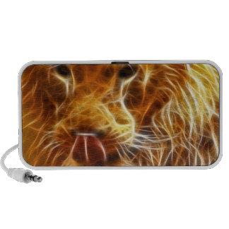 Neon Lion Speaker