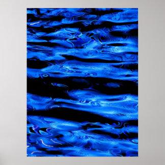 Neón líquido 1 póster