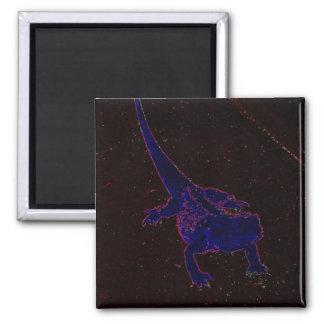 Neon Lizard Magnet