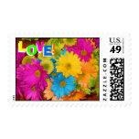 Neon LOVE! stamp