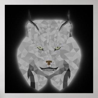 Neon Lynx Poster