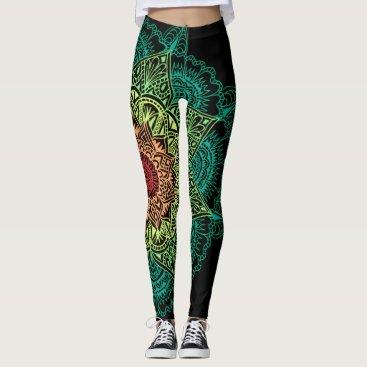 R_Loechler_Art_100 Neon Mandala Leggings