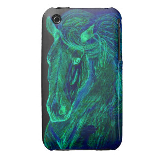 Neon Mane iPhone 3 Cover