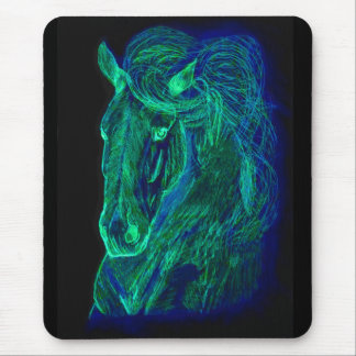 Neon Mane Mousepad
