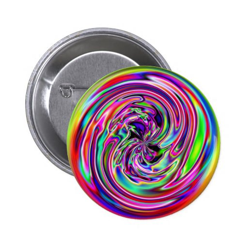 Neon Marble Button