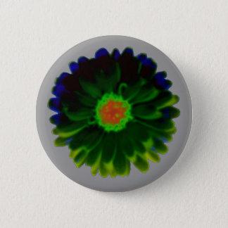 Neon Marigold Button