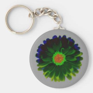Neon Marigold Keychain