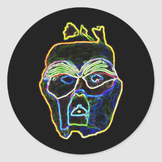 Neon Mask stickers