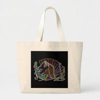Neon Masquerade Bag