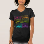Neon Mix Tapes T Shirt