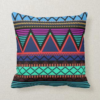 Neon Modern Tribal Pillow