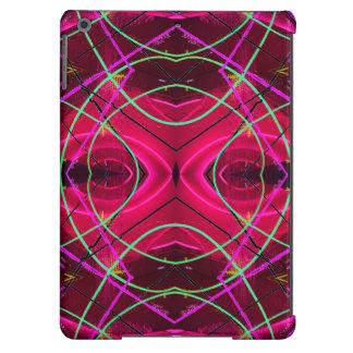 Neón moderno y rosa 2 del caso del iPad de Funda Para iPad Air