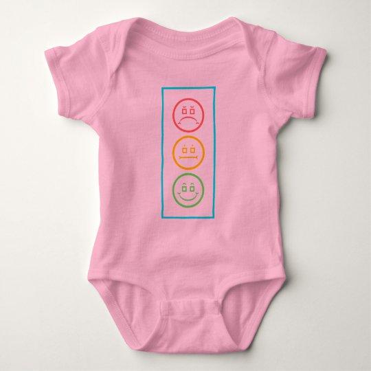 Neon Moody Stoplight Baby Bodysuit
