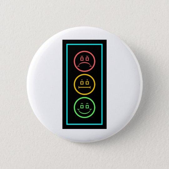 Neon Moody Stoplight Button