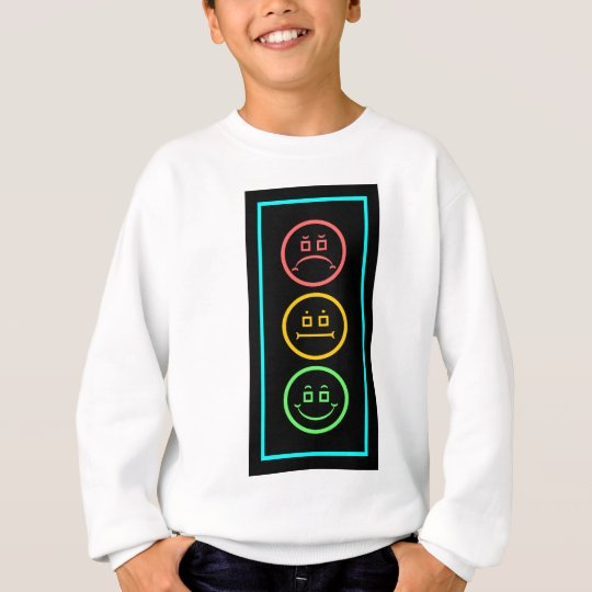 Neon Moody Stoplight Sweatshirt