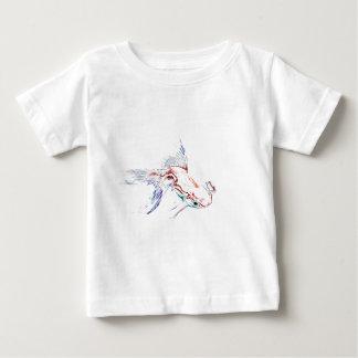 Neon Multicolor Rainbow Fish/Goldfish/Koi Infant T-shirt