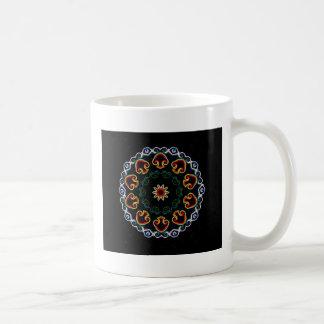 Neon Mushroom Enlightenment Coffee Mug