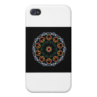 Neon Mushroom Enlightenment Covers For iPhone 4