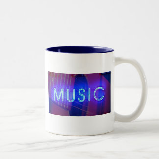 Neon Music Coffee Mug