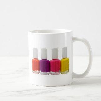 Neon Nail Polish Coffee Mug