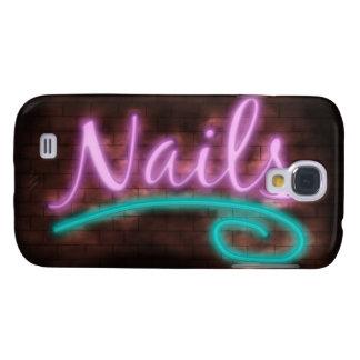 Neon Nails Sign HTC Vivid / Raider 4G Cover