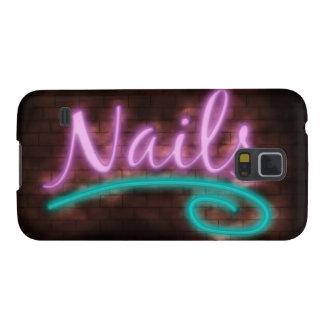 Neon Nails Sign Samsung Galaxy Nexus Cover
