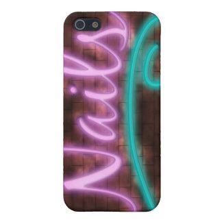 Neon Nails Sign Covers For iPhone 5