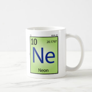 Neon (Ne) Element Mug