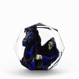 Neón negro del jinete w del parca por Valpyra