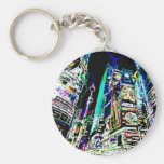 Neon New York City Key Chains