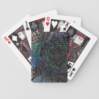 Neon Nightmare Bicycle Playing Cards