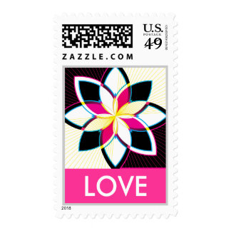 Neon Nights, LOVE Postage Stamps
