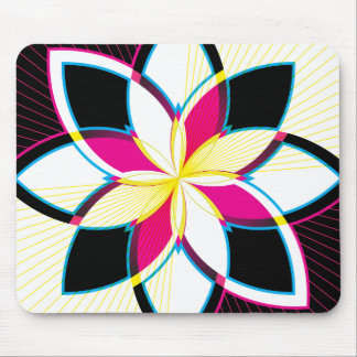 Neon Nights Mouse Pad