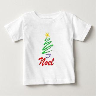 Neon Noel Xmas Tree Baby T-Shirt